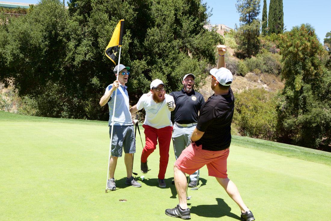 Event Photography at a Charity Golf Tournament by Donna Coleman in San Diego