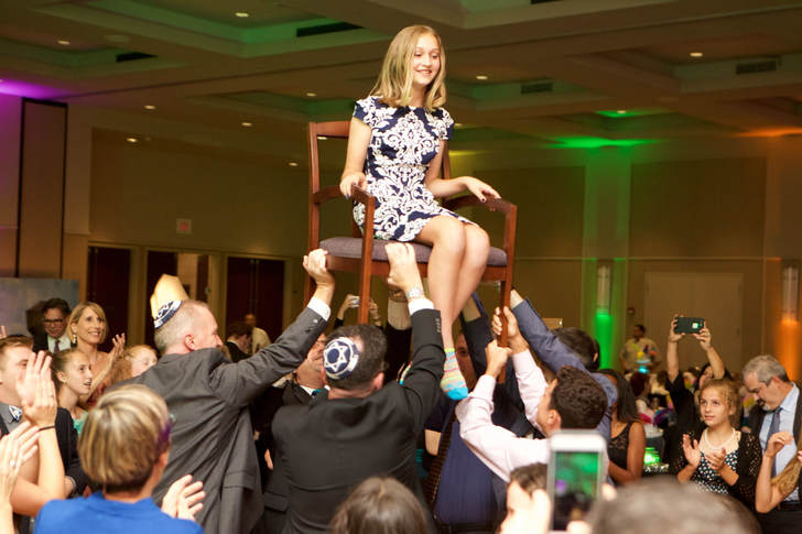 Event Photography at a Mitzvah by Donna Coleman in San Diego
